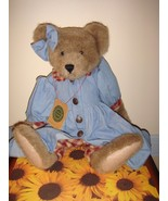 Boyds Bears Lucy Bea LeBruin QVC Exclusive Bear Wearing Denim - $39.99