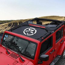 Durable Mesh Sunshade Top Cover Provides UV Sun Shade Protection for 2007-2017 J image 6