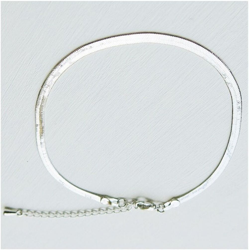 jewelry inch product anklet link chain free gold ankle watches overstock shipping white today braided foxtail bracelet