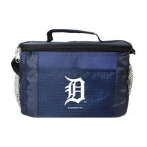 DETROIT TIGERS LUNCH TOTE 6 PK BEER SODA TEAM LOGO KOOLER BAG MLB BASEBALL - $18.60