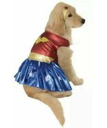 Wonder Woman Cosplay for Dog / DC Comics Rubies Dress-Up Costume / Size L - $18.79