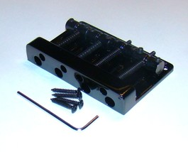 REPLACEMENT BRIDGE FOR FOUR STRING JAZZ BASS® - GLOSS BLACK FINISH - $25.95