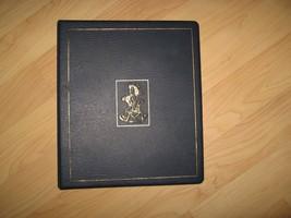 Hummel Club Binder - Vintage 1990's Blue Figurine Collector Notebook Scrapbook - $20.78