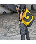On Sale, Canvas With Leather Tote,  Unisex Shoulder Bag, Waterproof Handbag - $155.00
