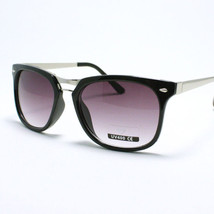 Unisex Fashion Sunglasses Classic Square Plastic Metal Frame UV 400 - $7.95