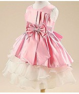 Kids Baby Girl's Tulle Bowknot Sleeveless Princess Party Dresses 130 cm ... - $14.84