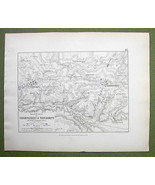 FRANCE Champaubert & Environs + Napoleon Battle... - $18.79
