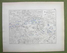 GERMANY Bautzen & Environs + Napoleon battle of... - $18.79