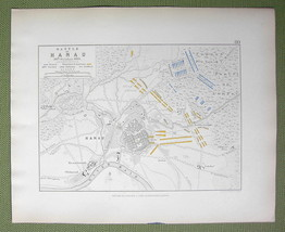 GERMANY Hanau & Environs + Napoleon Battle of 1... - $18.79