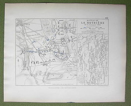 FRANCE La Rothiere & Environs + Napoleon Battle... - $18.79