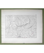 SPAIN France Nivelle Rever Region & Napoleon Battle 1813- 1848 Fine Qual... - $18.79