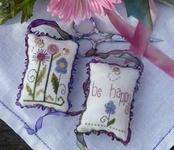 Tiny Garden Scissor Fob kit cross stitch Shepherd's Bush - $16.00