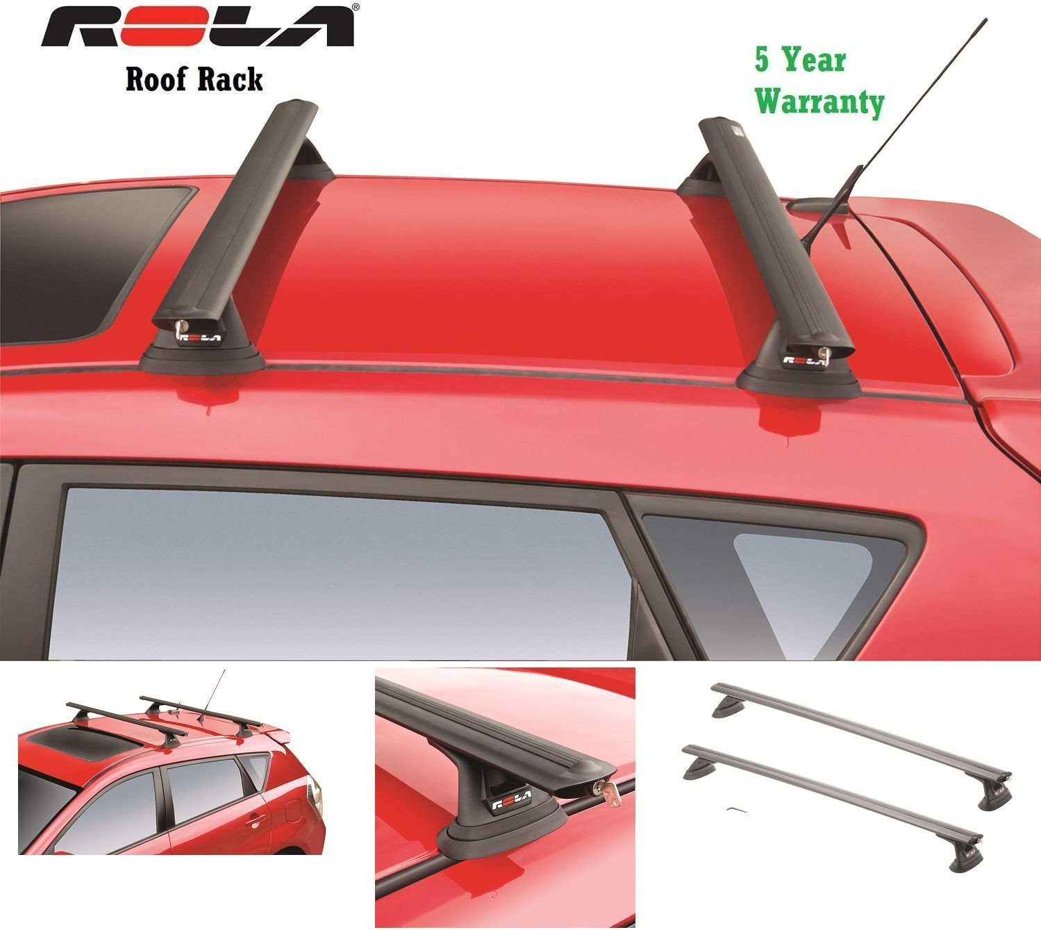 Rola Custom Fit Aluminum 110 Lb Roof Rack And Similar Items