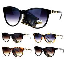 VG Eyewear Jewel Buckle Hinge Horn Rim Oversize Cat Eye Sunglasses - $12.95