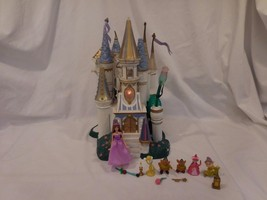 Beauty and the beast castle Disney RARE 1998 Polly Pocket Size trendmasters - $49.62
