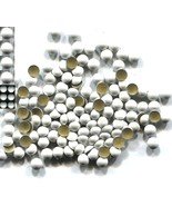 Pearl Domes Nailheads 5mm Hot fix WHITE  144 Pc  1 gross - $5.40