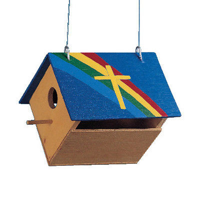 Kids Make Your Own Bird House Unfinished Wood Wooden Craft