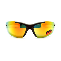X Loop Mens Light Weight Bicycle Rimless Warp Oval Sports Racing Sunglasses - $7.95