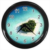 Maldive Islands Heart Wall Clock - $17.41