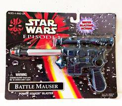 STAR WARS Phantom Menace Battle Mauser Power Soaker Blaster Pistol Mint ... - $9.95