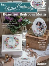 Silk Ribbon Embroidery Transfers Book ....Beautiful Bedroom - $5.90