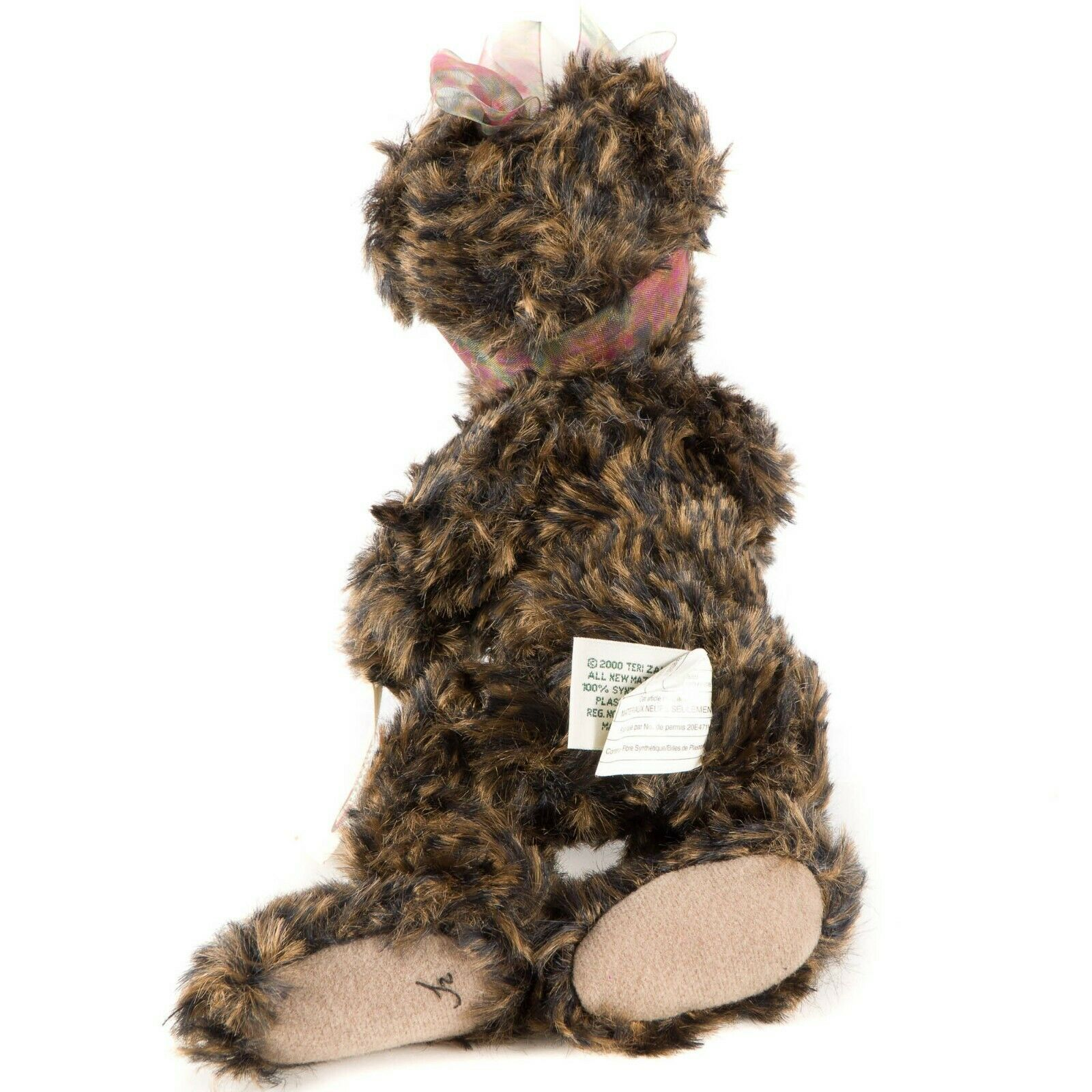 """Ganz Cottage Collectibles Lexi Teddy Bear 11"""" First Edition Scarf Tag CC1801 image 4"""