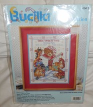 BUCILLA Baby Collection Once Upon A Time Cross Stitch Kit NEW 11 x 14 - $15.94