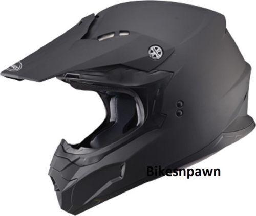 New Matte Black 2XL Adult GMax MX86 Offroad Helmet DOT & ECE 22.05 Approved