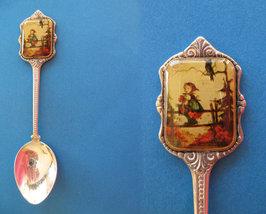 HUMMEL Souvenir Collector Spoon GIRL on FENCE Vintage Collectible Collec... - $7.95