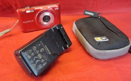Fujifilm FinePix JX Series JX500 14.0MP Digital Camera - Red w Charger - $22.28