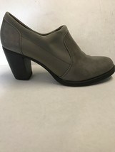 Women's Shoes Soul By Naturalizer Gray Leather & Nylon Bootie Size 6.5 - $37.62