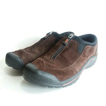 Land's End Women's Brown Suede All Weather Zip Trail/Hiking Shoes Size 8 - $34.98