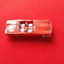 1960 AMT red Ford thunderbird model - $14.00
