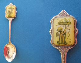 HUMMEL CHRISTMAS Souvenir Collector Spoon 1981 Collectible CHILD KID Can... - $7.95