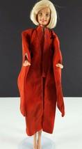 Barbie 821 Barbie In Japan Kimono Red Pattern Original 1964 Clothing - $29.69