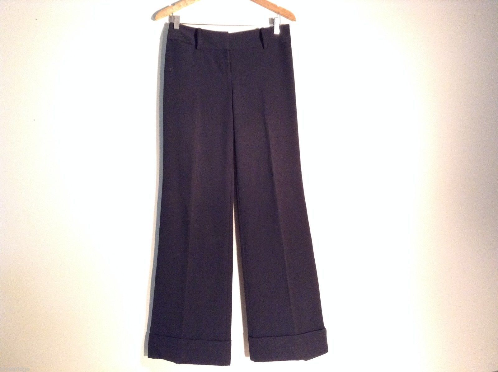 Ann Taylor Loft Womens Size 4 Black Dress Pants Stretchy