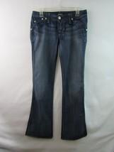 Rock & Republic Leonard Boot Cut Stretch Blue Jeans Size 27 Tall - $33.21