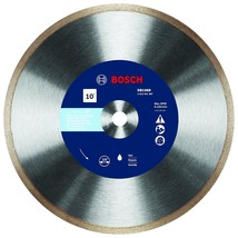 Bosch DB1069 10 In. Rapido Premium Continuous Rim Diamond Blade for Glass Tile - $70.46
