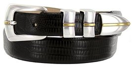 Marin Gold Genuine Italian Calfskin Leather Designer Dress Golf Belt for Men(... - $29.20