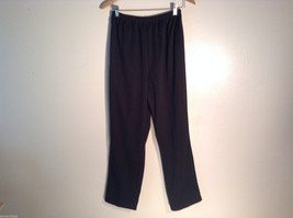 Womens Blair Black Sweat pants/ gym pants Size 14 100% polyester