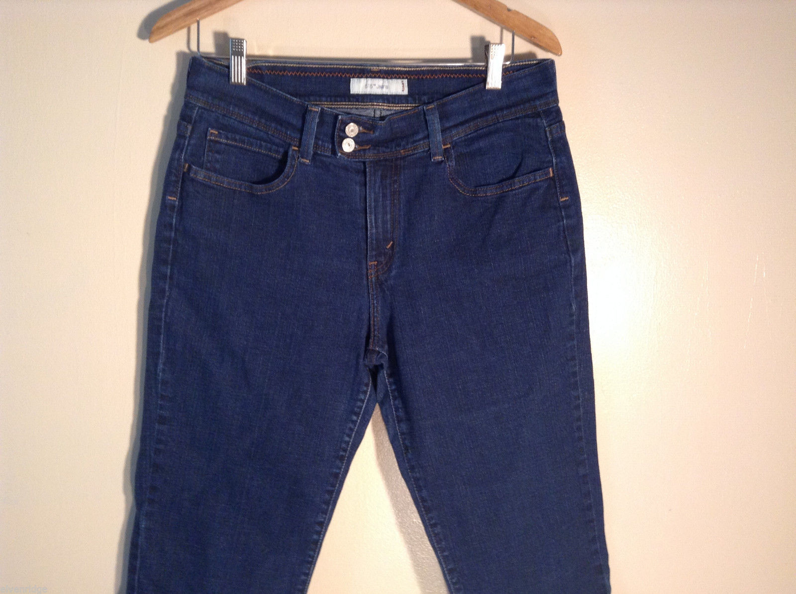 Womens Levis 515 Jeans Size 12 Short Jeans Excellent Blue