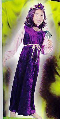 VELVET Harvest Princess 3T/4T Child Costume Bonanza