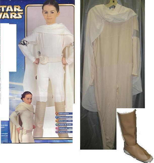 STAR WARS PADME AMIDALA 12/14 childs costume