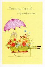 "(1) One Greeting Card Nurses Day ""Because You're Such a Special Nurse..."" - $1.50"