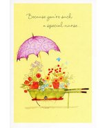 """(1) One Greeting Card Nurses Day """"Because You're Such a Special Nurse..."""" - $1.50"""