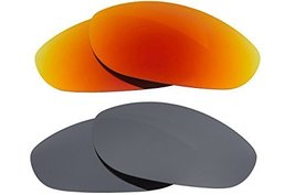 New Seek Replacement Lenses Oakley Monster Dog   Polarized Red Silver - $34.14