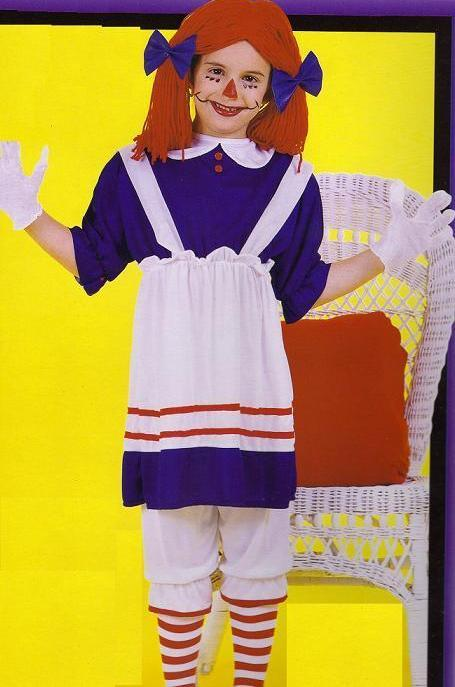 Rag Doll size 4-6 Childs Costume
