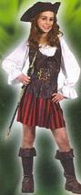 PIRATE GIRL size Sm 4/6 Childs Costume - $39.00