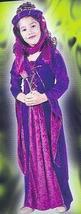 Medieval VELVET PRINCESS 8/10 Child Costume - $25.00