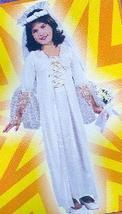 Medieval or Renaissance BRIDE 4/6 Child Costume - $18.00